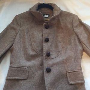 JCrew wool tan blazer
